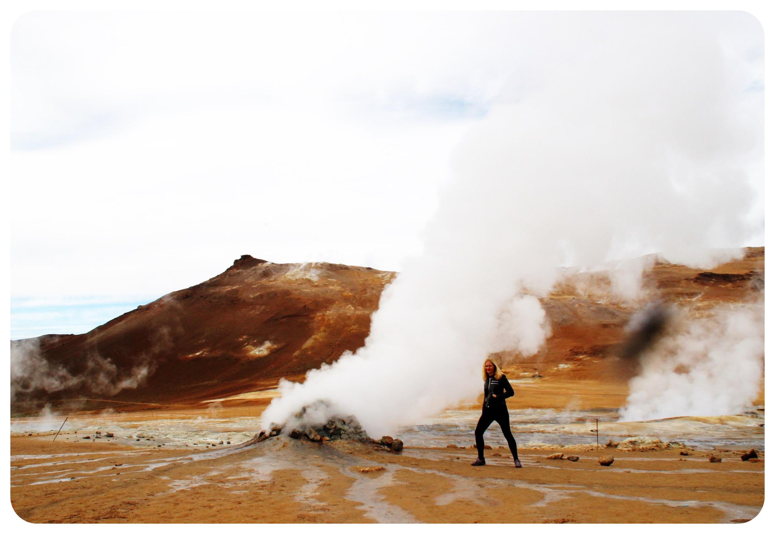 iceland hverir geothermal field