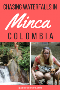 Chasing Waterfalls in Minca Colombia