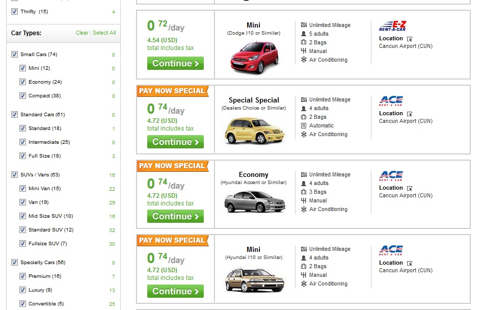 carrentals-dot-com-screenshot-cancun