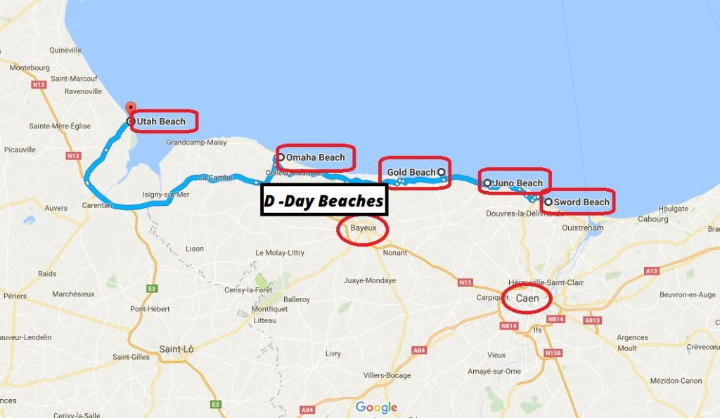 visit the D-Day beaches