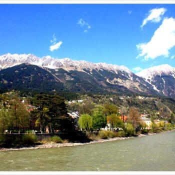 Innsbruck Inn & Mountains