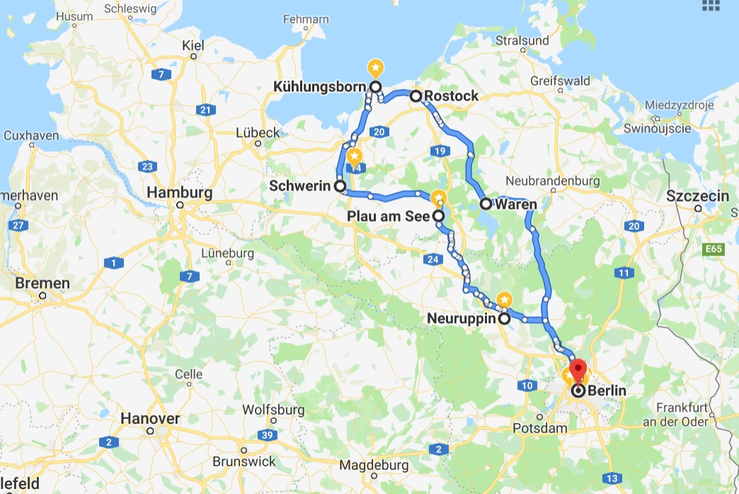 Northern Germany Road Trip Itinerary