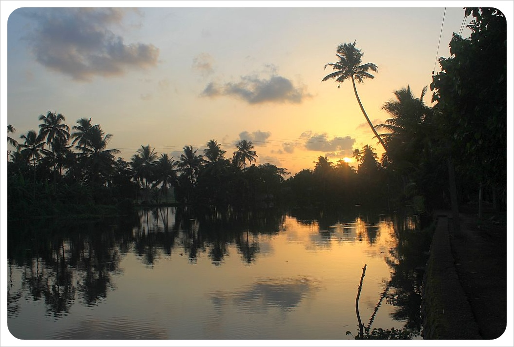 kerala backwaters sunset9